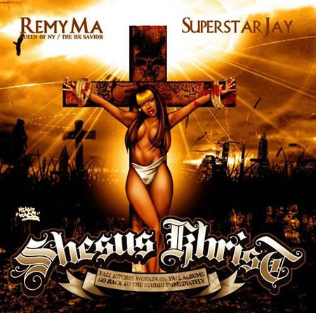 Remy Ma New Album Cover Shesus Christ